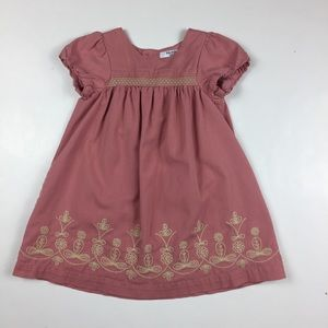 Baby Boden Embroidered Dress